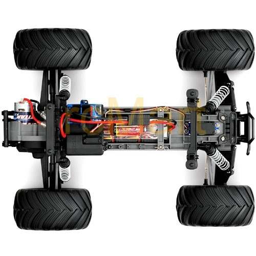Traxxas Monster Jam Maximum Destruction 1/10 Scale 2Wd Monster inside Traxxas Stampede 2Wd Parts Diagram