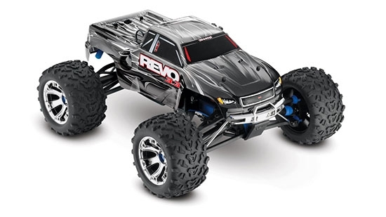 Traxxas® Revo® 3.3 Nitro 4Wd Rtr with Traxxas Revo 3.3 Parts Diagram