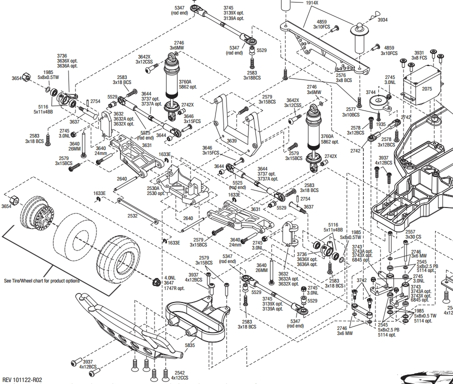 Traxxas Slash 4X4 Parts Diagram | Wiring Diagram And Fuse Box Diagram pertaining to Traxxas Stampede 4X4 Parts Diagram