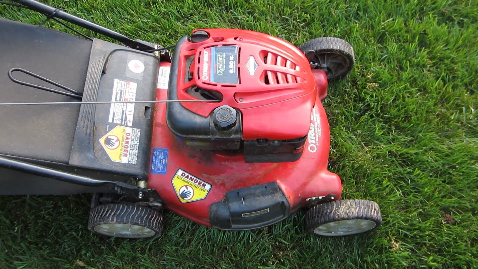 "Troy Bilt 21"" Lawn Mower 6.5 Briggs And Stratton Broken Craigslist throughout Briggs And Stratton 550Ex Parts Diagram"