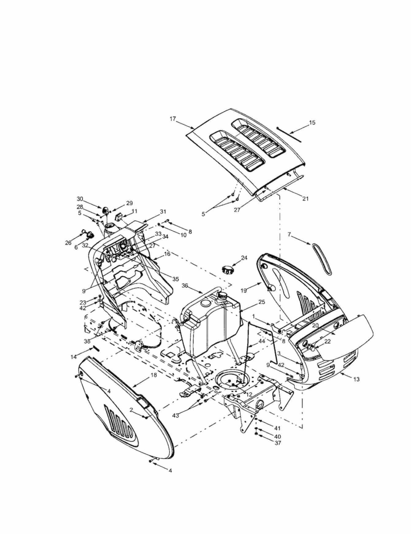 Troy Bilt Riding Lawn Mower Parts Diagram | Chentodayinfo for Craftsman Self Propelled Lawn Mower Parts Diagram