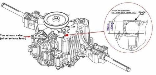 Tuff Torq K46 Tranny regarding Tuff Torq K46 Parts Diagram