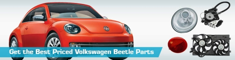 Volkswagen Beetle Parts & Accessories - Partsgeek within Vw New Beetle Parts Diagram