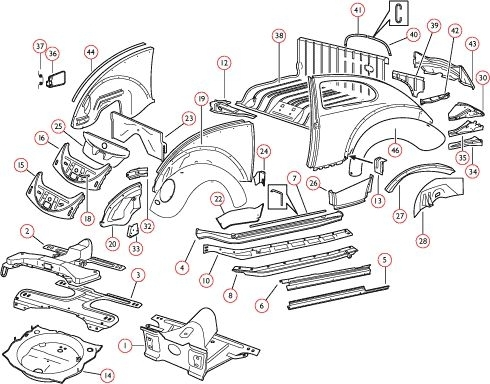 Volkswagen Beetle Parts - Best Auto Cars Blog - Carsreview inside Vw New Beetle Parts Diagram