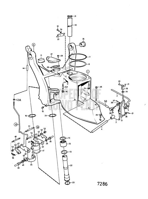 Volvo Penta 280 Outdrive Help with Volvo 280 Outdrive Parts Diagram