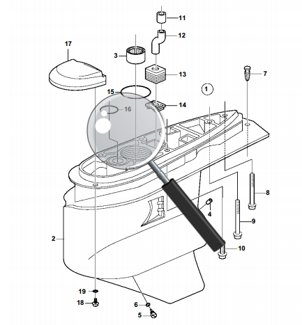 volvo penta marine parts diagram