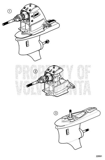 Volvo Penta Sx-M Single Prop Outdrive - Michigan Motorz with regard to Volvo Penta Sx Parts Diagram