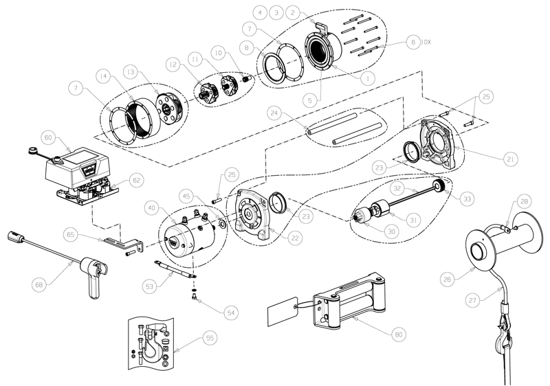 vr10000 warn authorized parts and service center throughout warn winch 2500 parts diagram vr10000 warn authorized parts and service center throughout warn warn winch parts diagram at bakdesigns.co