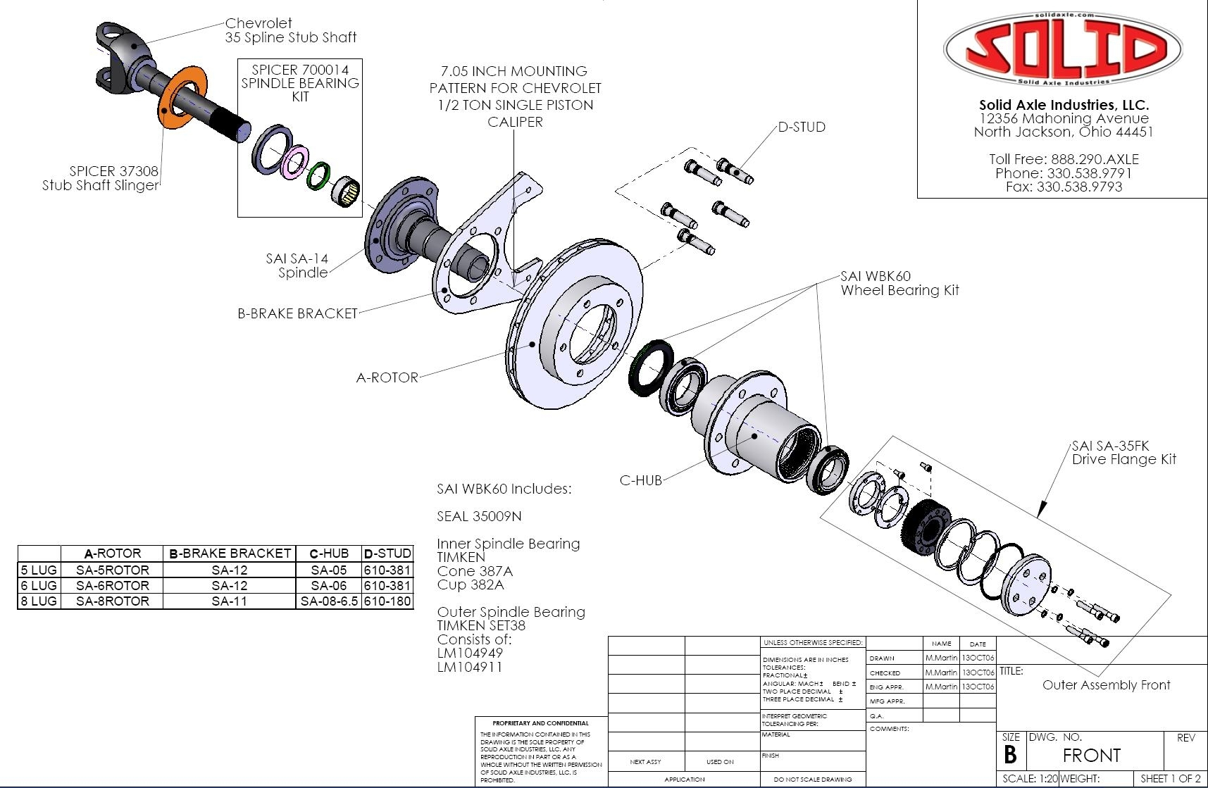 Warn 35 Spline Hub Dana 60 Tech Info And Install - Pirate4X4 pertaining to Dana 60 Front Axle Parts Diagram