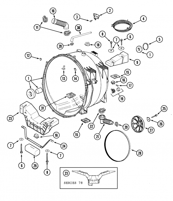Washer Washer Maytag Neptune Mah3000Aww Leaking Water From The regarding Maytag Neptune Washer Parts Diagram