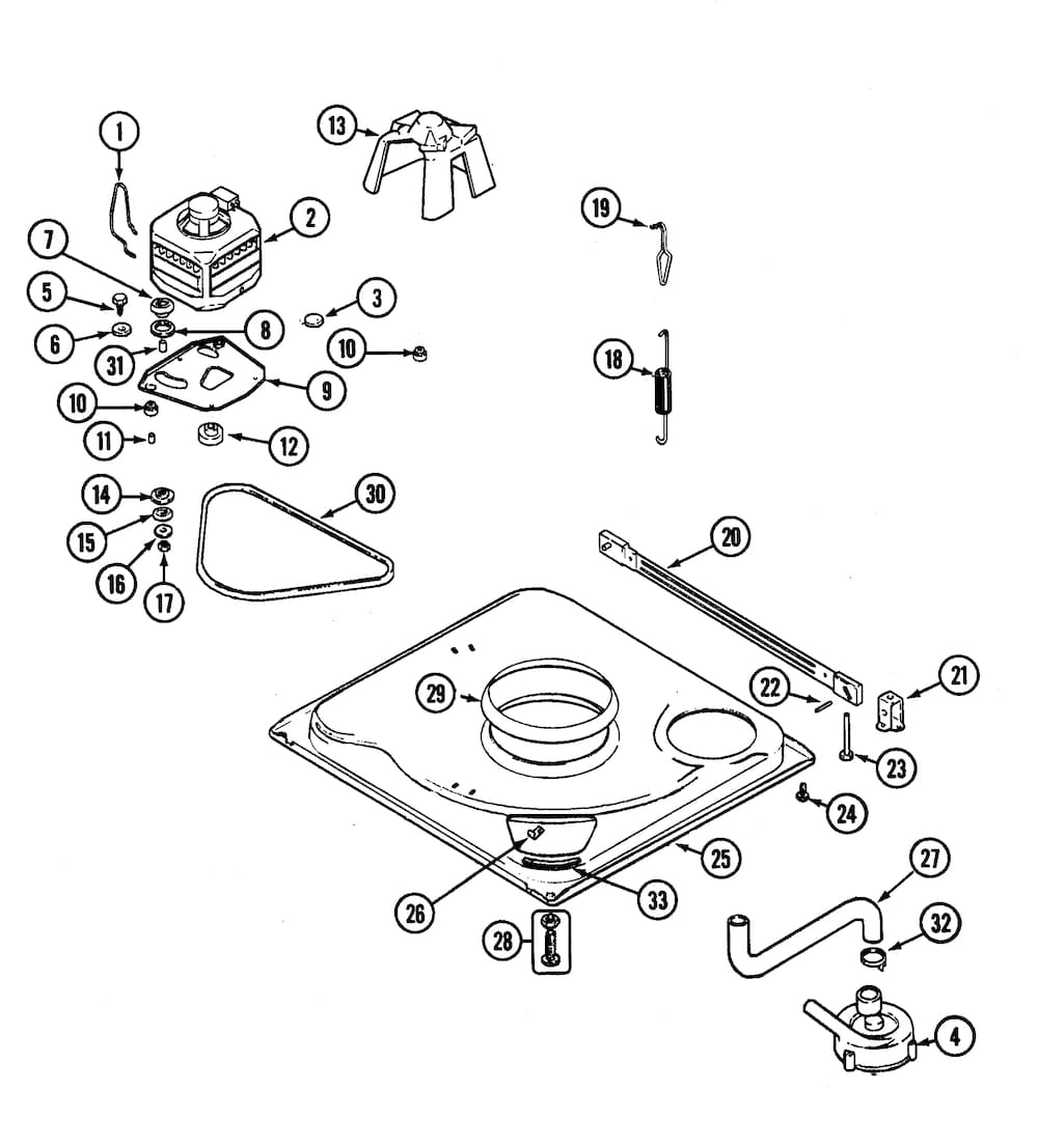 Kenmore 80 Series Washer Parts Diagram Automotive Parts