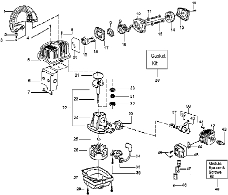 Weedeater Parts | Weedeater Featherlite throughout Poulan Weed Eater Parts Diagram