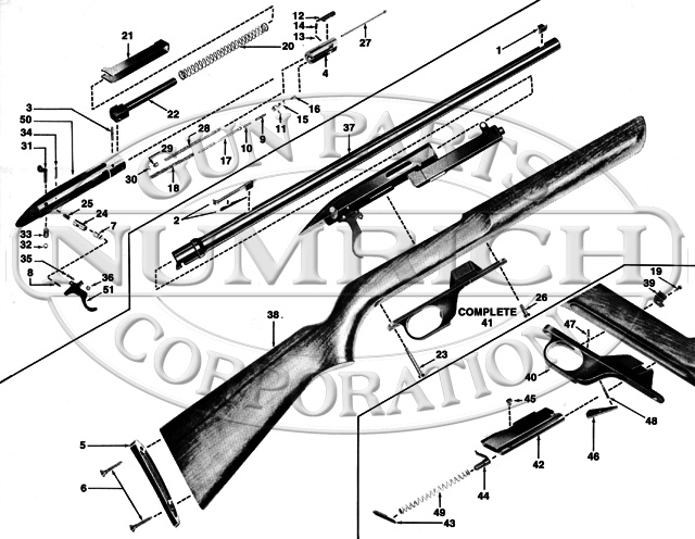 Winchester 100 Schematic Related Keywords  U0026 Suggestions Regarding Winchester Model 12 Parts