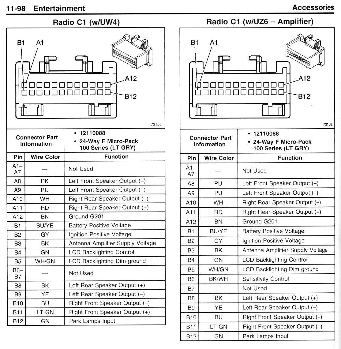 2006 Pontiac Grand Prix Parts Diagram