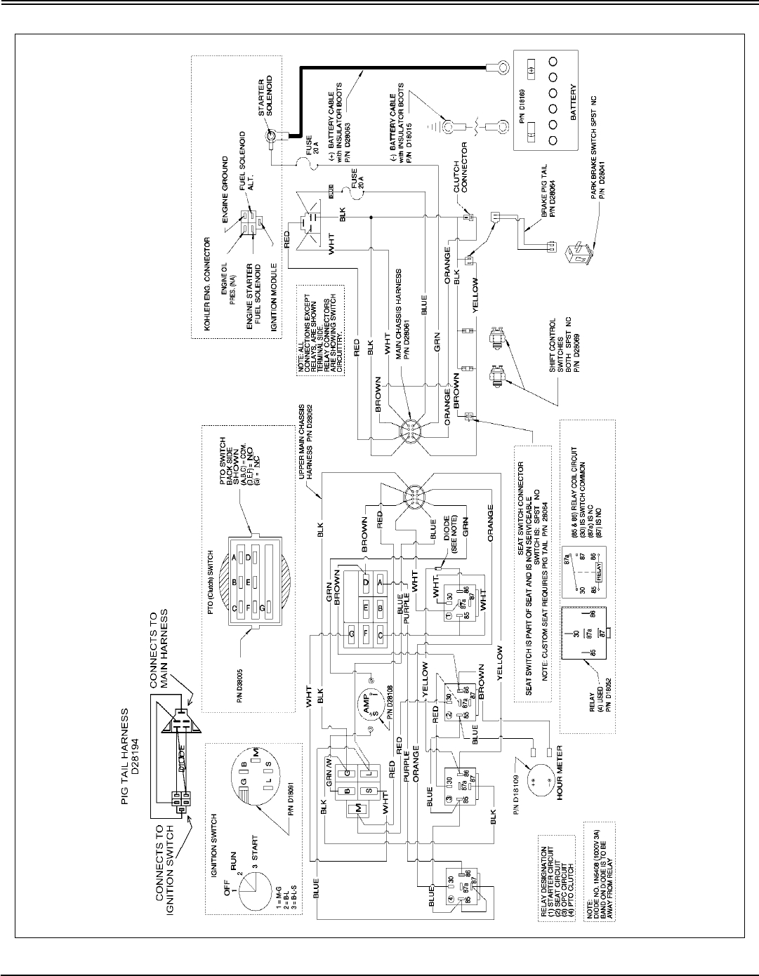 cub cadet 1641 wiring diagram international cub tractor