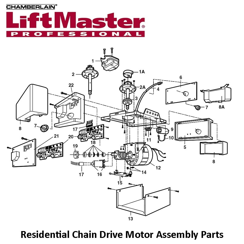 wiring diagram for liftmaster garage door opener on free with liftmaster garage door opener parts diagram wiring diagram for liftmaster garage door opener on free with Chamberlain LiftMaster Professional 1 2 HP at eliteediting.co