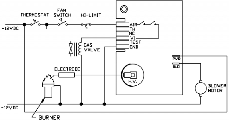 wiring diagram for suburban furnace readingrat inside suburban rv furnace parts diagram rv furnace wiring diagram rv thermostat wiring diagram \u2022 wiring Suburban SW10DE Water Heater Manual at gsmx.co