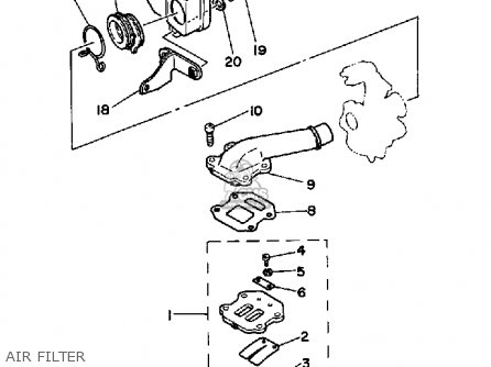 wiring diagram of yamaha motorcycle with Yamaha Moto 4 Parts Diagram on 263353 Dual Circuit Element Two Functions One Led as well Wiring Diagram For Chinese Atv also Ktm Engine Diagram as well Motor Starter Wiring Diagram Start Stop together with Suzuki Gsx1300 Hayabusa Charging System Circuit 99 00.
