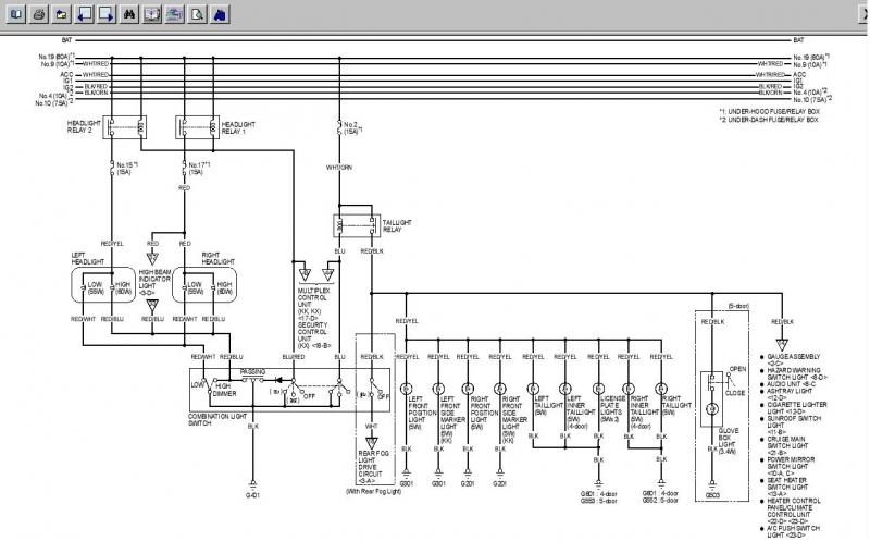 Wiring Diagram Honda Accord 2006  Honda  Wiring Diagram