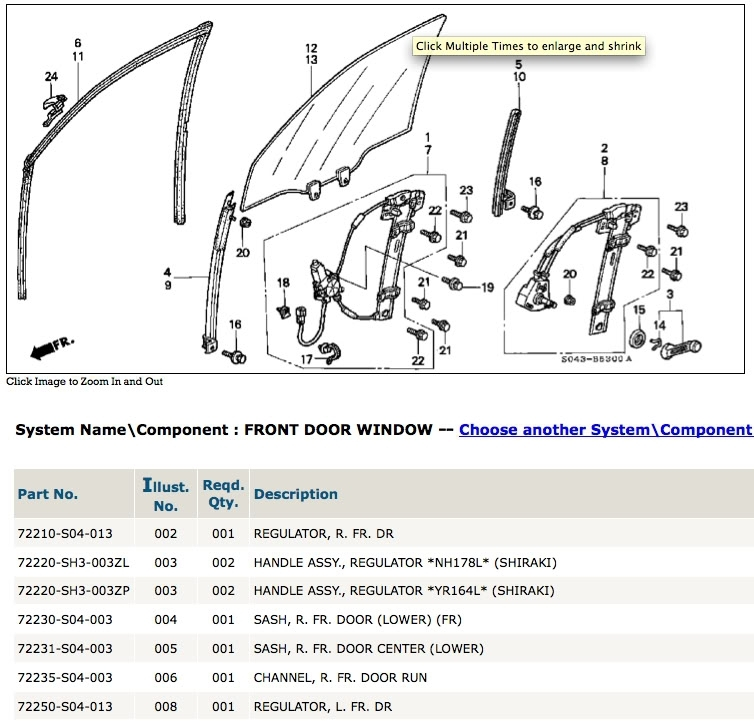Worn Out Window Molding - Honda-Tech - Honda Forum Discussion for 2005 Honda Civic Parts Diagram