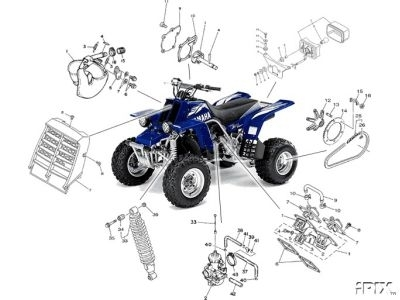 Yamaha Parts & Diagram's Cd Rom's with Yamaha Raptor 660 Parts Diagram