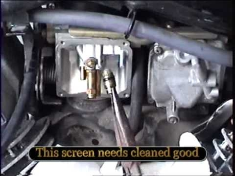 Yamaha V-Star Carburator Cleaning - Youtube intended for V Star 1100 Parts Diagram