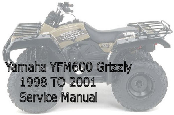 Yamaha Yfm600 Grizzly Service Manual - Download Manuals & Tech throughout Yamaha Grizzly 600 Parts Diagram
