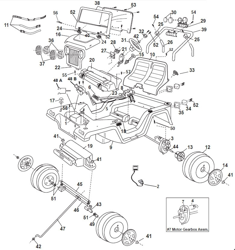 2000 jeep wrangler parts diagram | automotive parts ... jeep wrangler wiring parts #4