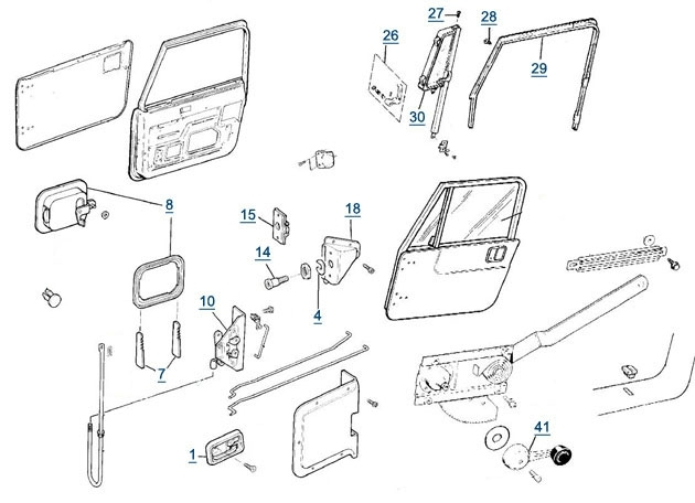 1997 Jeep Wrangler Parts Diagram Automotive Parts