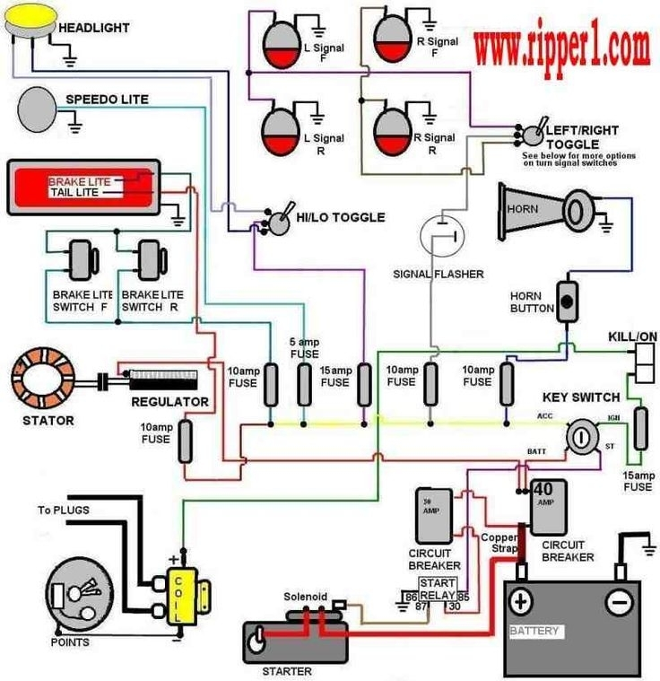 19 Best Car And Bike Wiring Images On Pinterest | Car Stuff throughout Engine Test Stand Wiring Diagram