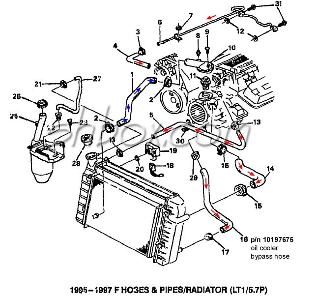 Pontiac Engine Wiring Diagram : Pontiac grand am engine diagram automotive parts
