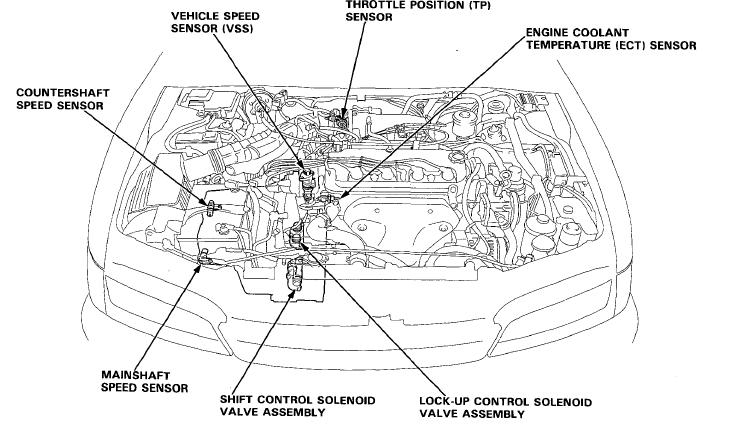 94 Honda Accord Engine Diagram