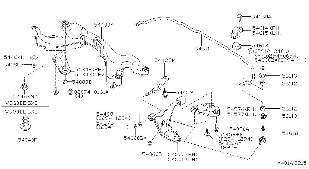 1995 nissan maxima engine diagram