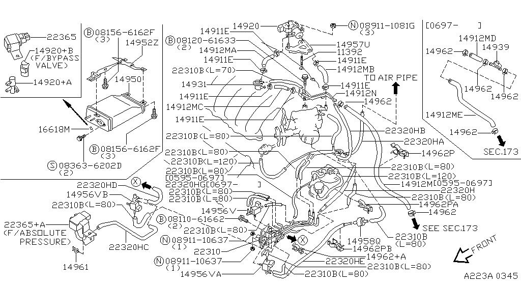 1997 Nissan Maxima Oem Parts - Nissan Usa Estore inside 1997 Nissan Altima Engine Diagram