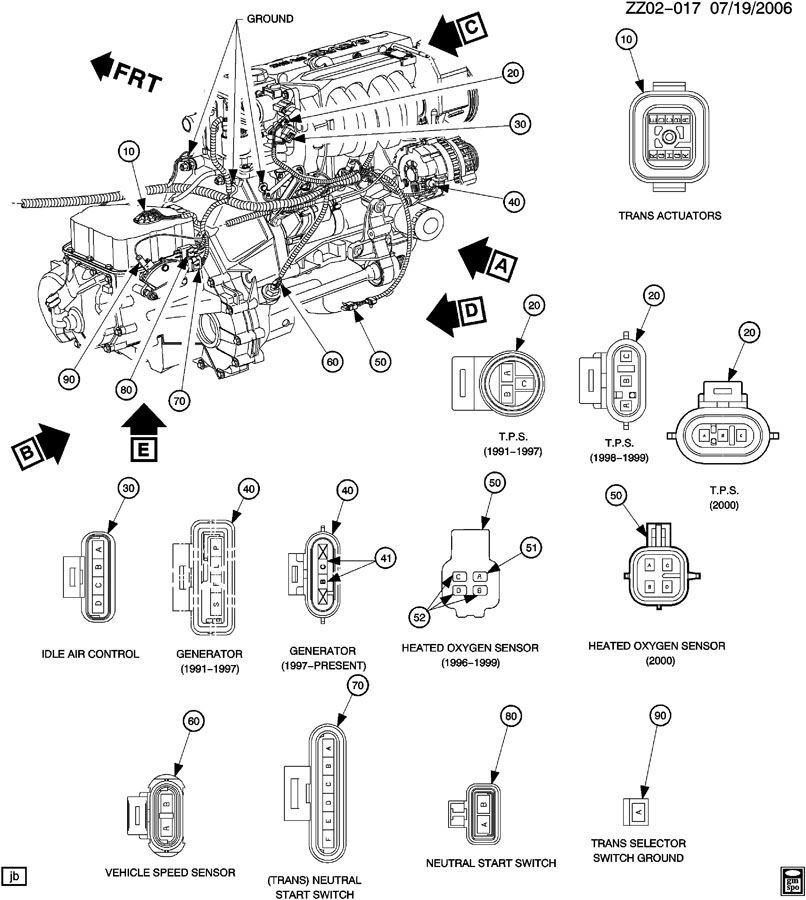 2002    Saturn    Sl2    Engine       Diagram      Automotive Parts    Diagram    Images