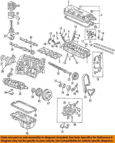 1998 Honda Accord Engine Diagram | Automotive Parts ...