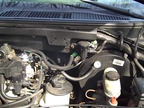 1998 Ford F150 4.6L With Clogged Cat - Youtube inside Ford F150 4.6 Engine Diagram