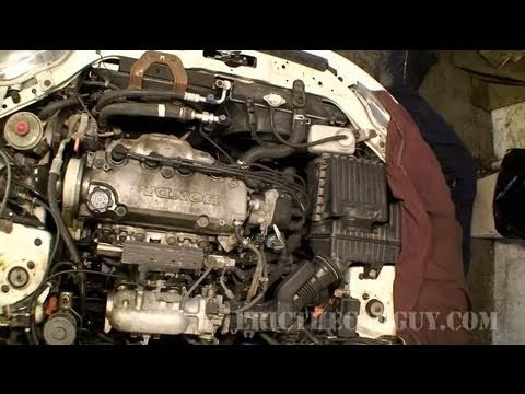 1998 Honda Civic Engine Part 1 - Ericthecarguy - Youtube within 98 Honda Civic Engine Diagram