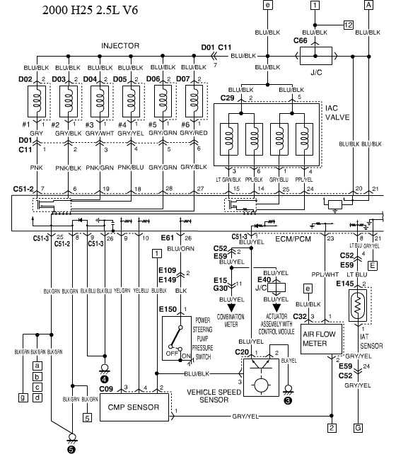 2001 Suzuki Vitara Engine Diagram