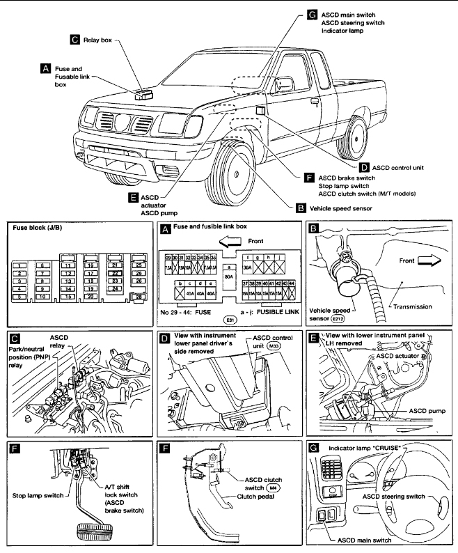 2000 Nissan Frontier Brake Lights Stay On: Brakes Problem 2000 intended for 2001 Nissan Frontier Engine Diagram