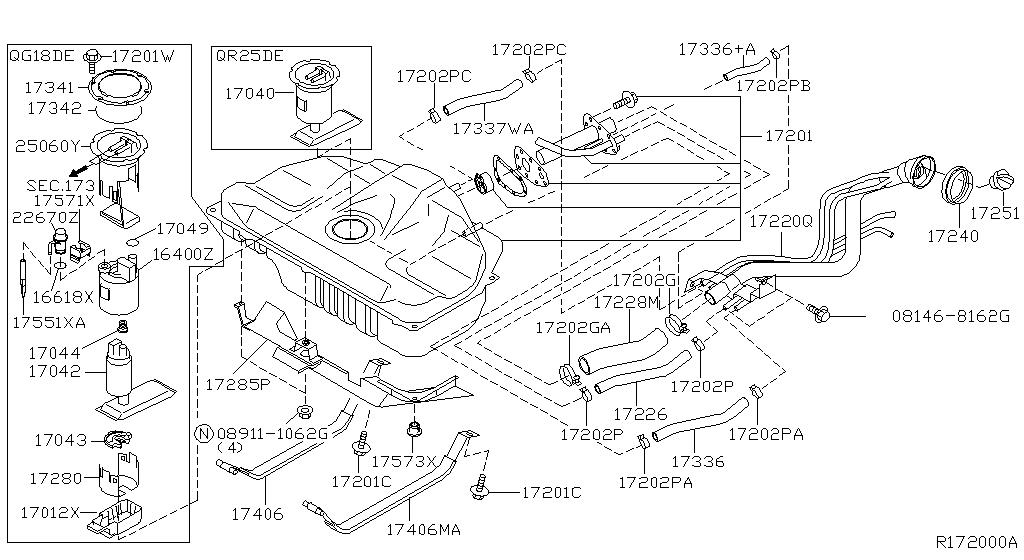 2006 nissan sentra engine diagram