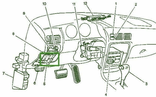 2001 jeep grand cherokee fuse box   33 wiring diagram
