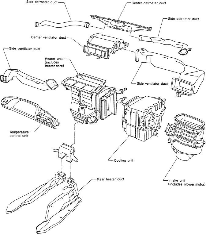 "2001 ""nissan Maxima"" Vacuum Diagrams 