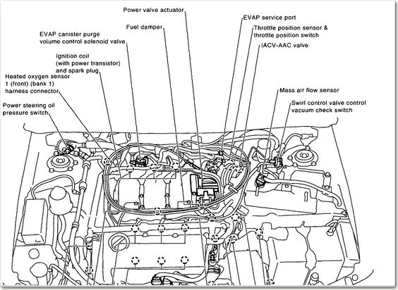 2001 Nissan Maxima Engine Diagram