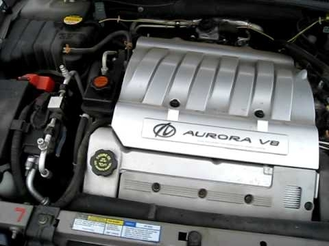 2001 Oldsmobile Aurora, 4.0L V-8 Engine, Automatic - Youtube intended for 2001 Oldsmobile Aurora Engine Diagram