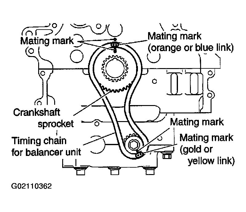 2002 Nissan Altima Timing Chain Marks Lost: Head Gasket Replaced, throughout 2002 Nissan Altima Engine Diagram