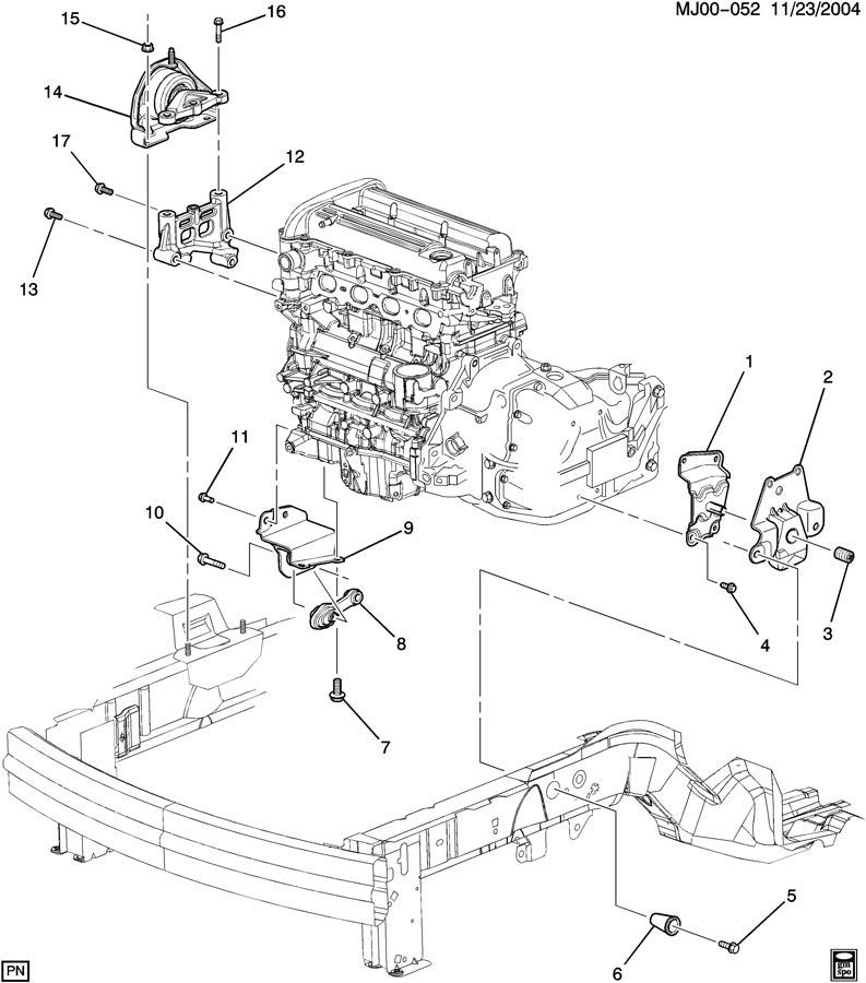 1998 Chevy Cavalier Engine Diagram List