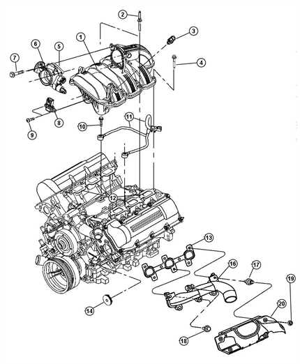 jeep liberty engine diagram 2002 jeep liberty engine diagram | automotive parts ...