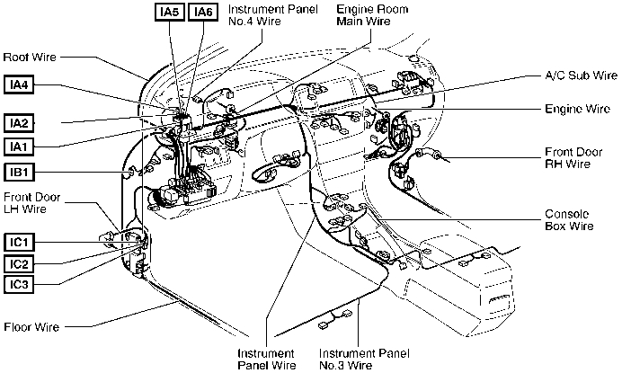2004 Corolla Fuel Pump Relay Diagram - Toyota Corolla 2004 Wiring with regard to 1996 Toyota Corolla Engine Diagram