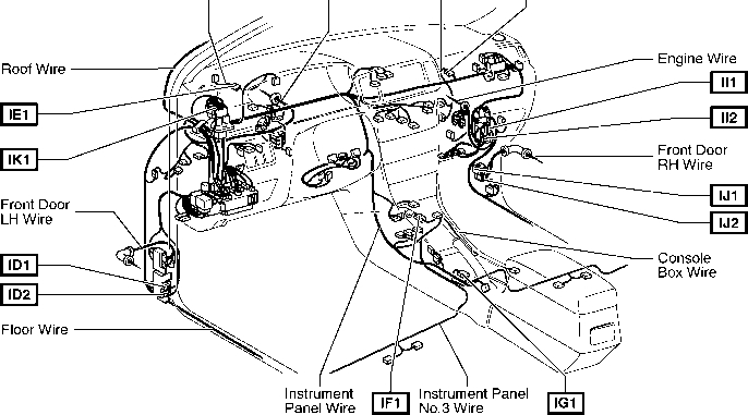 2004 Corolla Fuel Pump Relay Diagram - Toyota Corolla 2004 Wiring with regard to 2000 Toyota Avalon Engine Diagram